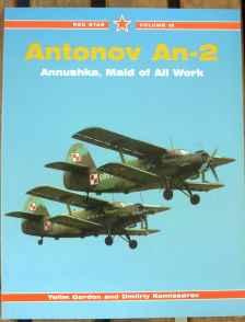 Antonov An-2 Annushka Maid of All Work by Yefim Gordon Dmitriy Komissarov