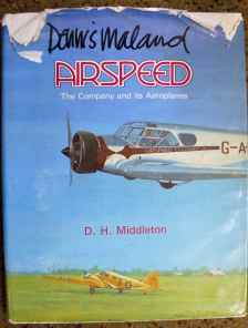Envoy, Viceroy, Oxford, AS.57, Ambassador, Airspeed, The Company and its Aeroplanes, by D. H. Middleton