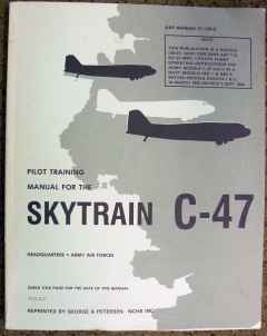 Pilot Training Manual for the Skytrain C-47