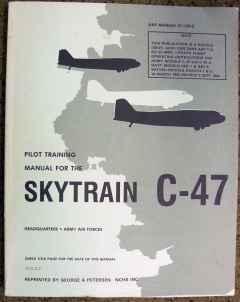 Pilot Training Manual for the Skytrain C-47