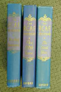 RCAF Overseas 3 BOOK SET: First Four Years, Fifth Year, Sixth Year Oxford Press 1940s