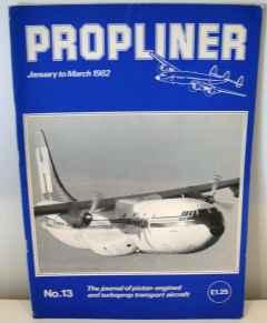 Propliner Magazine issue No. 13