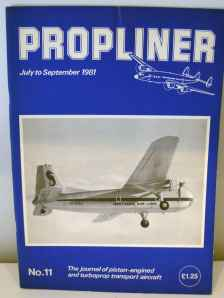 Propliner Magazine issue No. 11