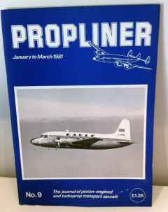 Propliner Magazine issue No. 9