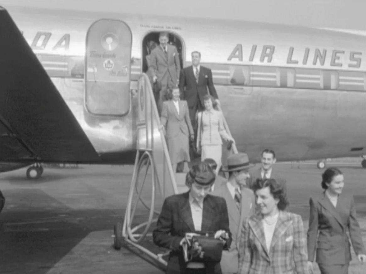 Trans Canada Air Lines 1940s & 1950s from NFB DVD