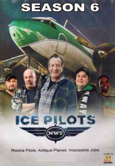 Ice Pilots Season 6 DVD set