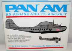 Pan Am An Airline and Aircraft book by REG Davies