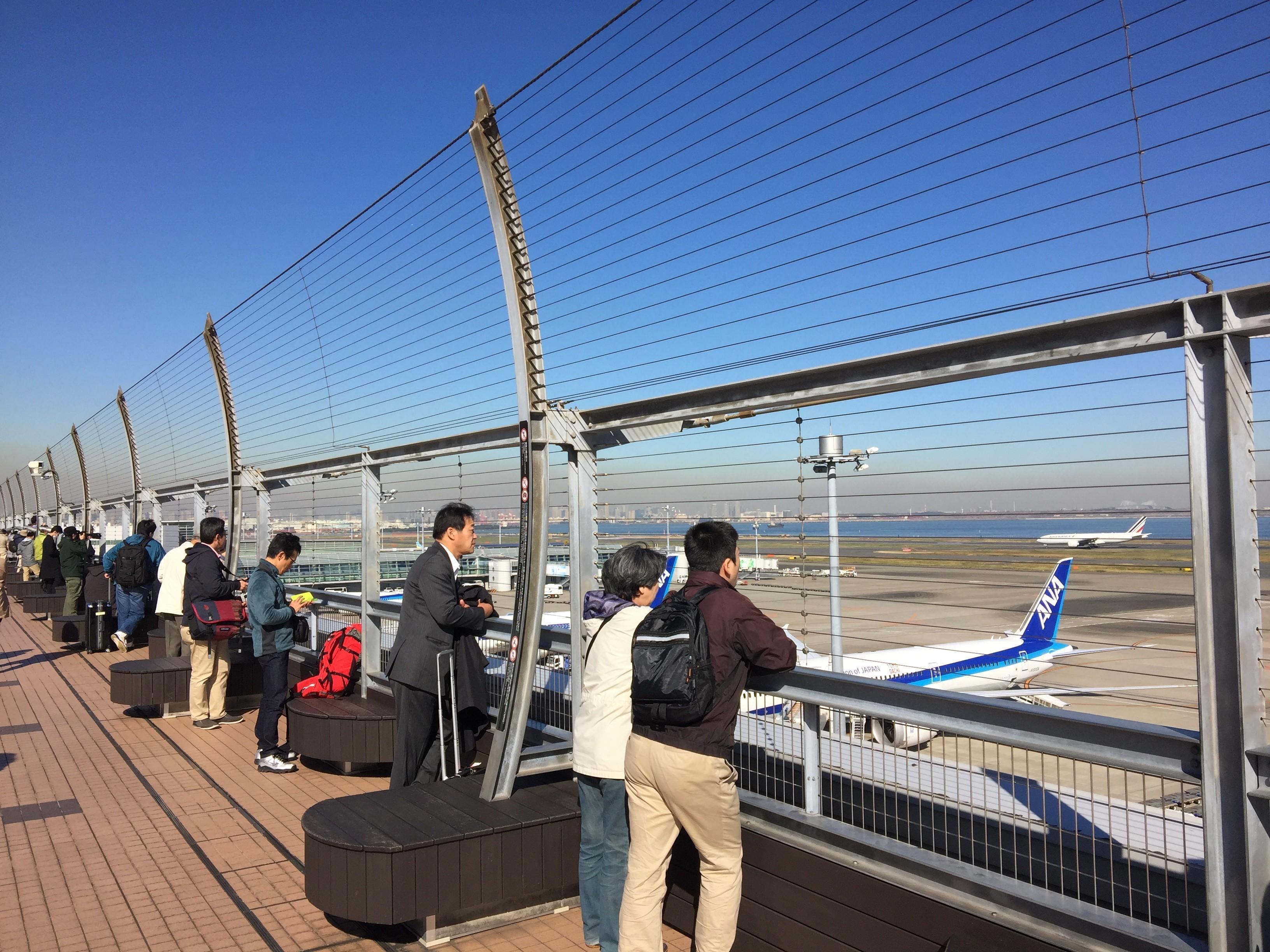 Tokyo Haneda airport spotting report by Henry Tenby