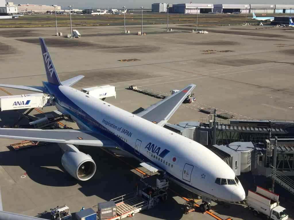 Obsdeck view from Haneda International Terminal
