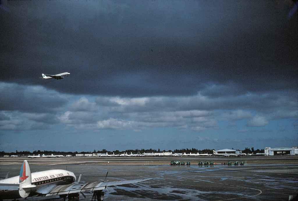 Miami Airport circa 1961