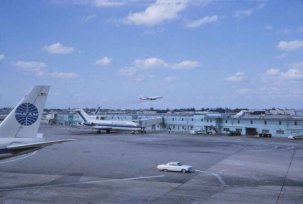 Miami Airport NOV 1965