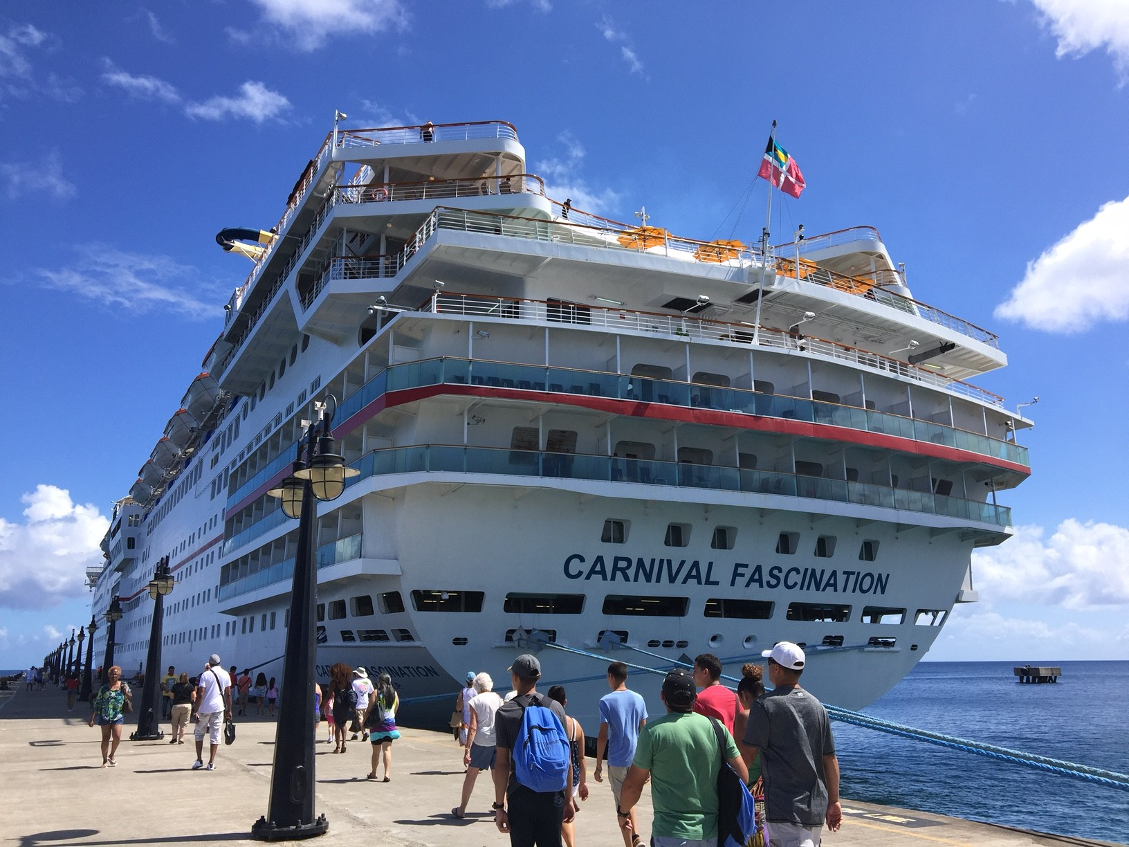 Carnival Fascination Cruise Barbados St Lucia St Kitts