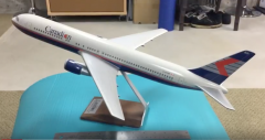 1/100 Canadian Airlines Boeing 767-300ER airline display model