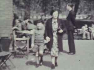 Lionel Tenby and mother Fanny Tenby London 1939