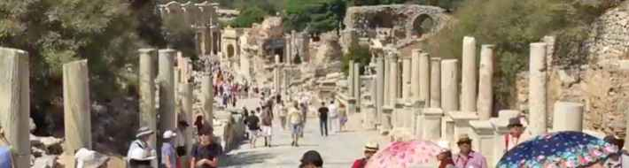 A tour of the ancient city of Ephesus Turkey by Henry Tenby