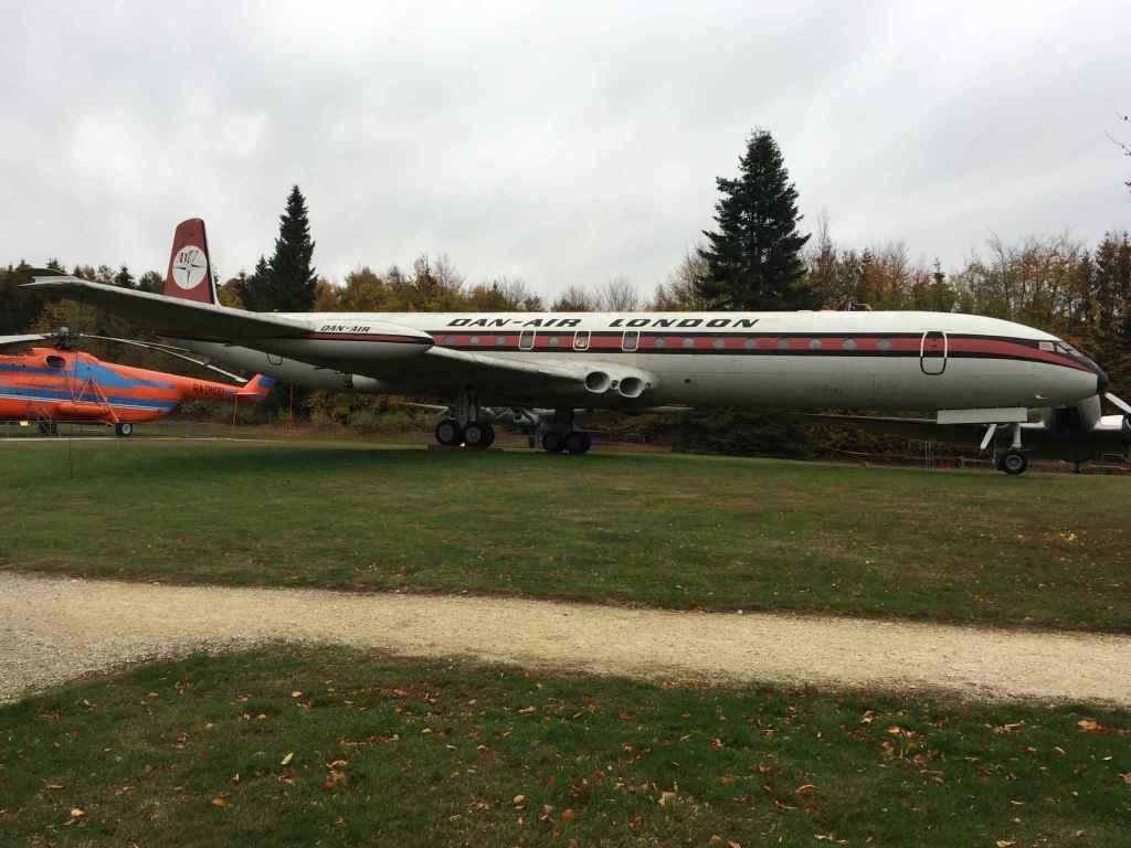 Dan-Air London Comet 4C G-BDIW at the Hermeskeil aviation museum in Germany.