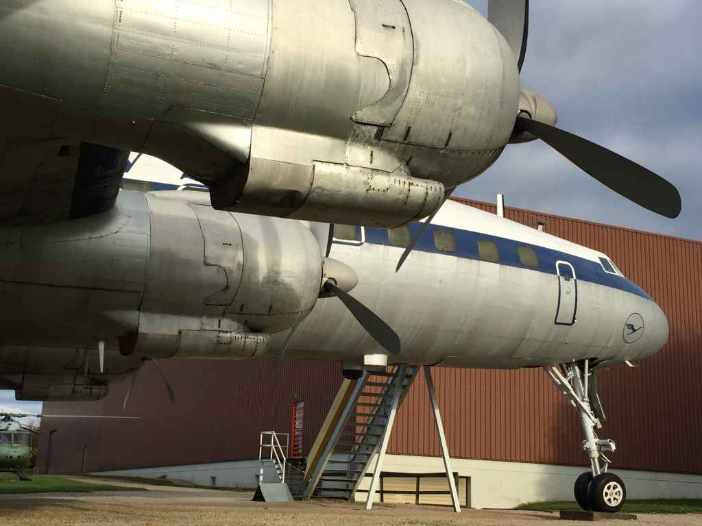 I can't get enough of a lovely piston pounding Super Connie from every angle! 'Aint it pretty! The three fins of the Connie are pure aviation magic! Lufthansa L-1049 Super Connie D-ALIN is one of the star attractions at the Hermeskeil aviation museum in Germany.