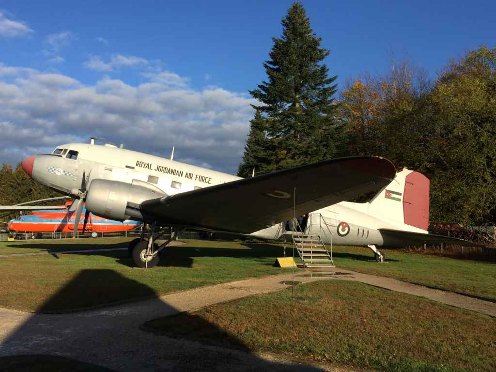 Another government donation to the museum. This time a Royal Jordanian Air Force DC-3 Dakota troop transport at the Hermeskeil aviation museum in Germany.
