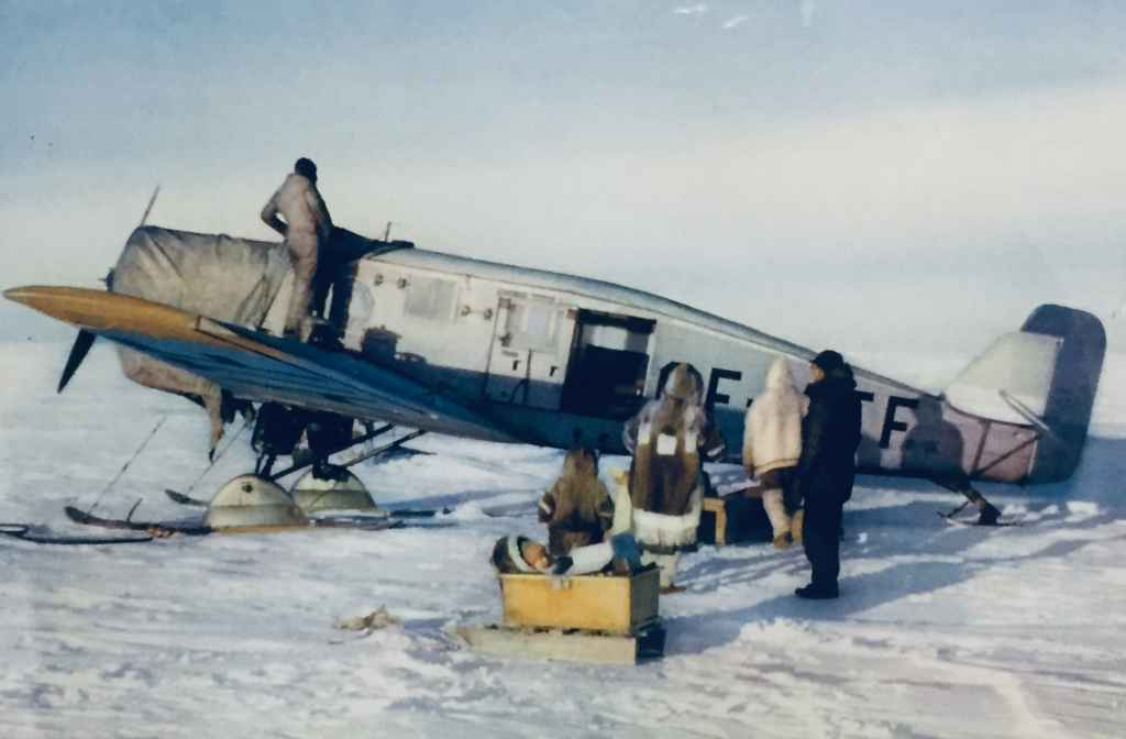 Rare Canadiana! A colour view from the 40s or 50s of a Junkers brush plane, somewhere in the Canadian hinterlands. Not sure of the operator. Image is at the Canadian Museum of Flight in Langley, BC.
