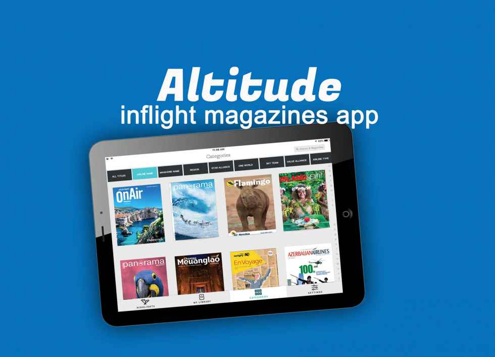 New App Delivers Airline Inflight Magazines to Global Audiences