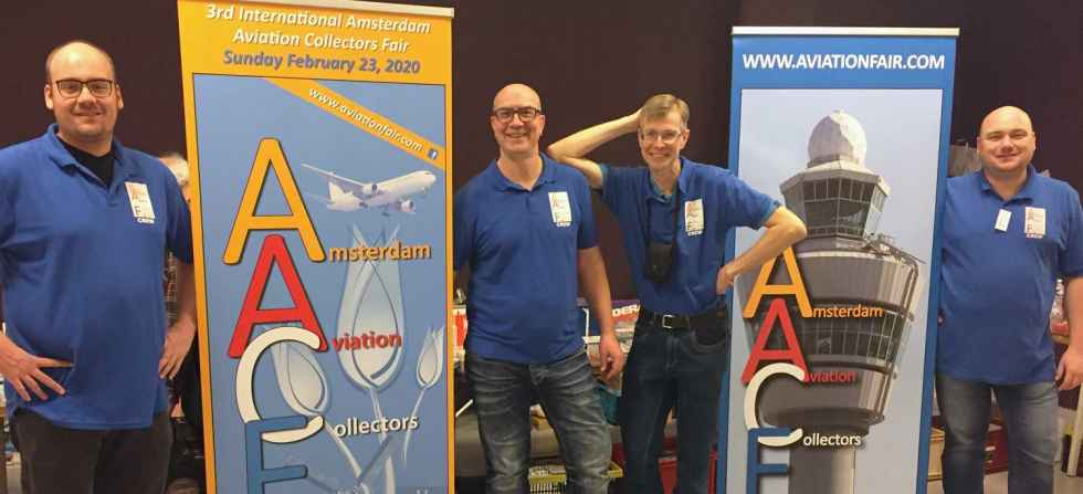 Welcome to the 2019 Amsterdam Aviation Fair, One of the best airline collectible shows on earth!