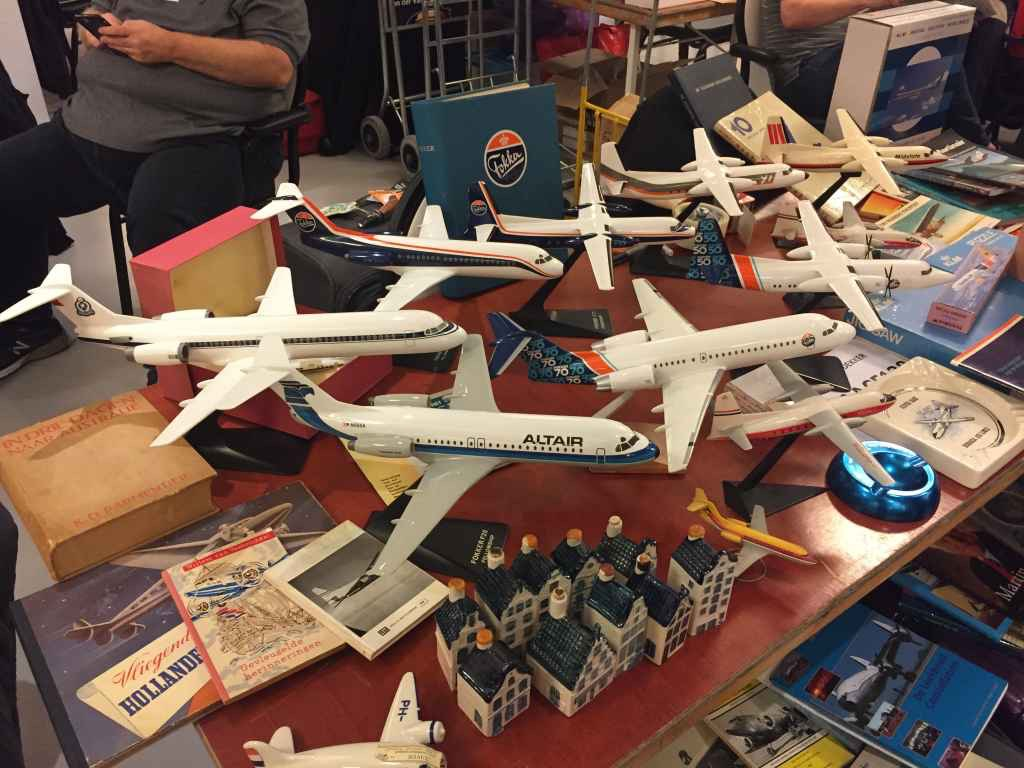 Fokker house models by IMC and Verkuyl were in good supply at fair prices at the 2019 Amsterdam Aviation Fair.