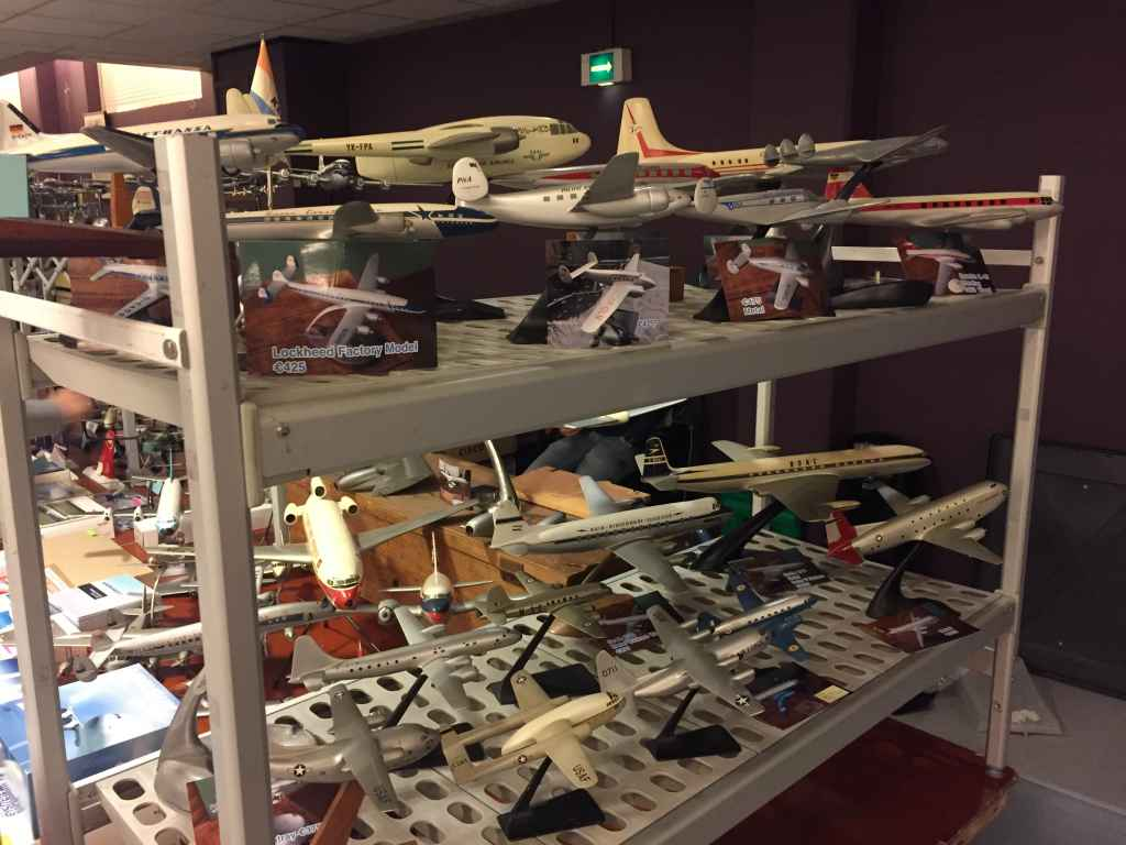 Once-in-a-lifetime modes. This amazing collection of refinished ID models (metal and wood) are from a long term collector who recently released his collection to the marketplace. They were all offered for sale at the Amsterdam Aviation Fair 2019.