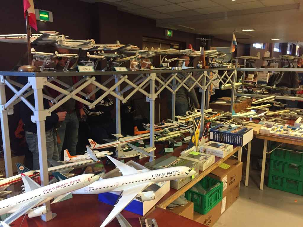 Another view of the wonderful models from a collector who recently exited the hobby due to old age, and his collection was presented for sale at the Amsterdam Aviation Fair 2019.