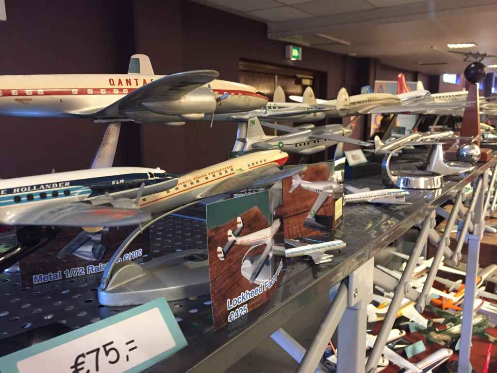 This fabulous photo presents many of the wonderful models from a collector who recently exited the hobby due to old age, and his collection was presented for sale at the Amsterdam Aviation Fair 2019.