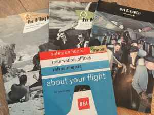 Vintage Airline Inflight Magazines