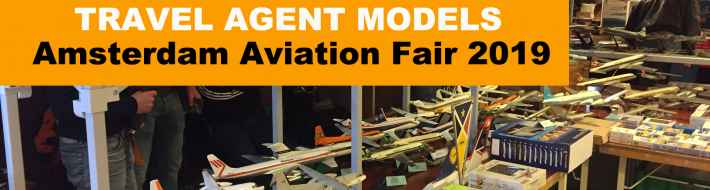 Amsterdam Aviation Fair - Pure Heaven for Airline Display Model Collectors
