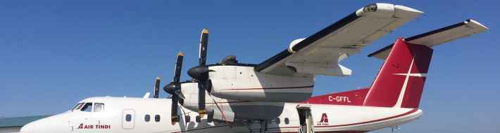 46-seat De Havilland Canada Dash-7 will be at the Abbotsford Airshow for one day only, tomorrow, Saturday August 10, the result of a one-time only charter for aviation buffs organized by Henry Tenby