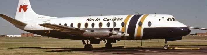 SP4614 North Cariboo Viscount C-GWPY YVR oct1984