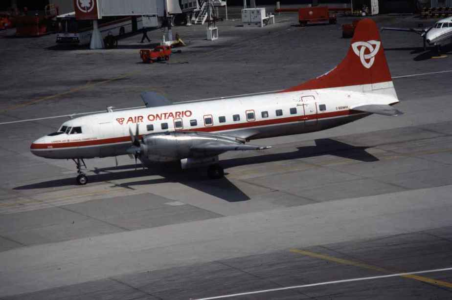 SP4632 Air Ontario CV580 C-GGWH YYZ June1987