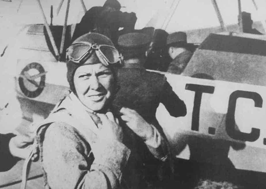 Turkey's very first female pilot was Sabiha Gökçen.