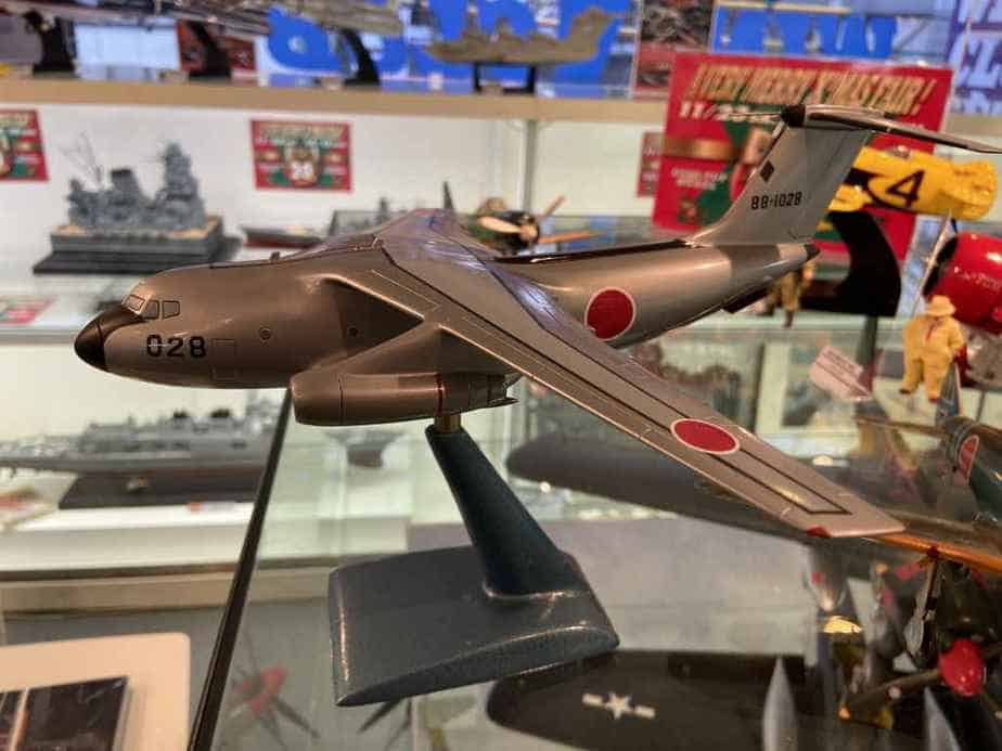 Kawasaki C1 model made by Nemoto circa 1960s at the Wing Club Shop in Tokyo, Japan.