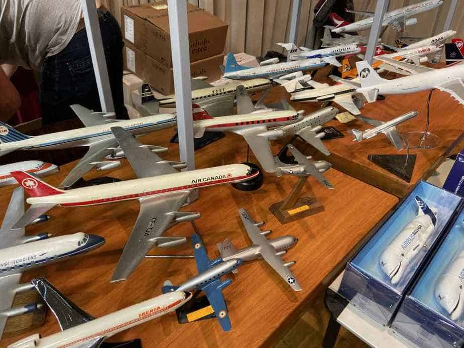 Ed van Rooijen from Amsterdam brought a fabulous selection of models for sale to the Frankfurt Schwanheim airline show in November 2019, including these interesting models.