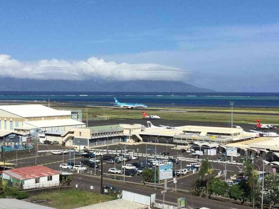 Tahiti's Faaa International airport