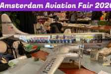 Amsterdam Aviation Collectors Fair 2020 Was An Amazing Success - Fantastic for Models!