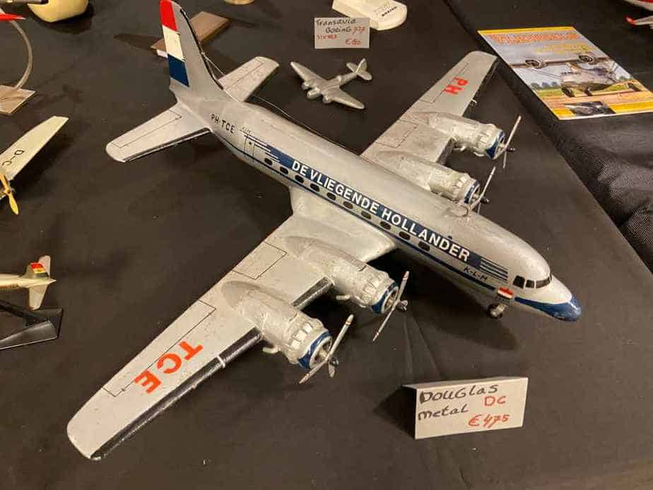 KLM DC-4 circa 1950s in approximately 1/50 scale