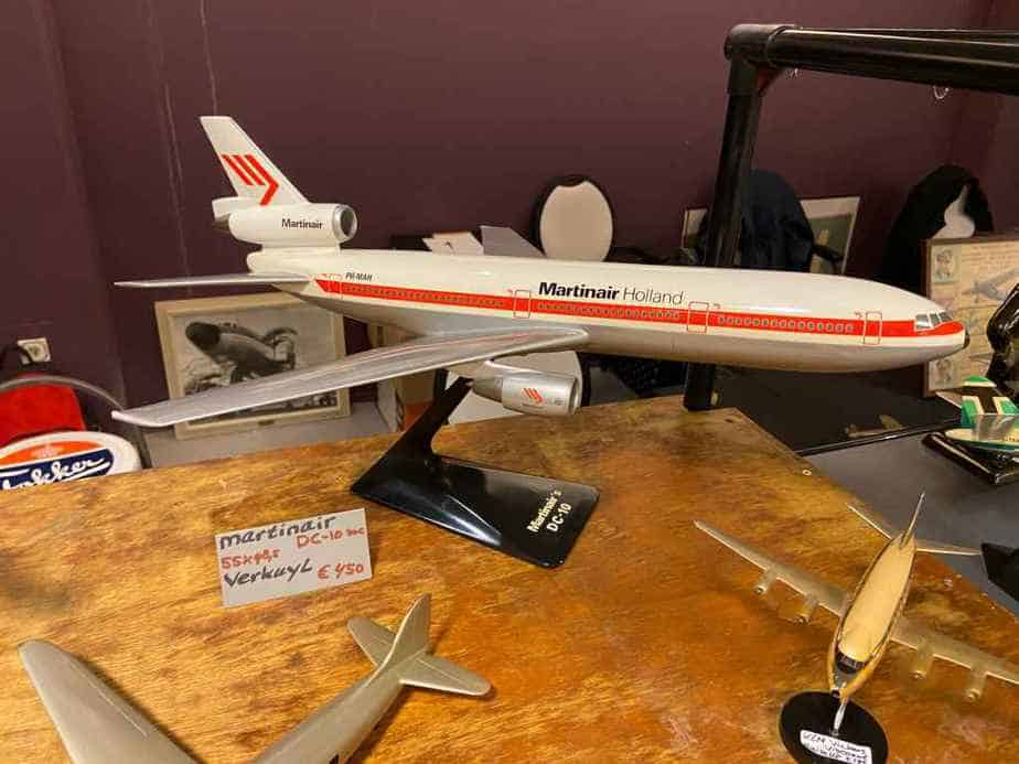Martinair Holland DC-10 in 1/100 scale by Verkuyl circa mid 1970s display model